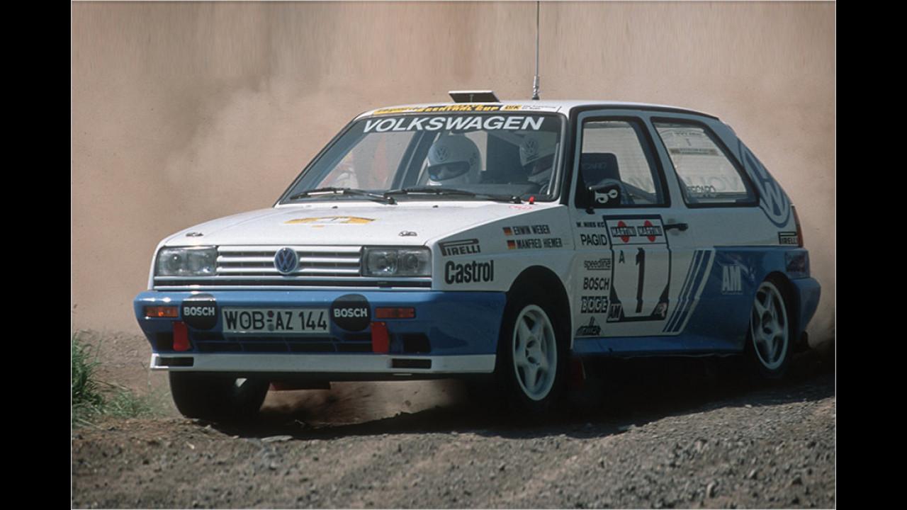 Noch mehr Rallye: VW in der Deutschen Meisterschaft