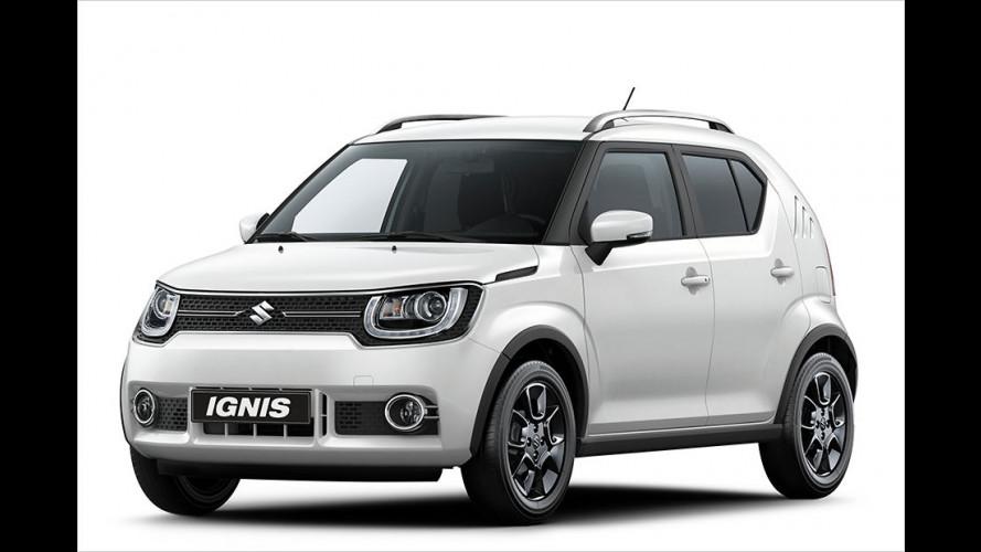Suzuki Ignis und SX4 S-Cross auf dem Pariser Salon 2016