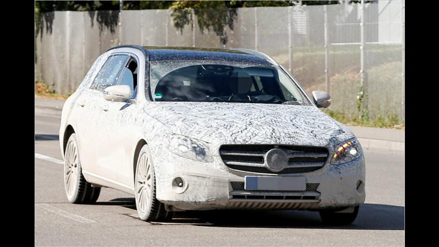Erwischt: Mercedes E-Klasse T-Modell