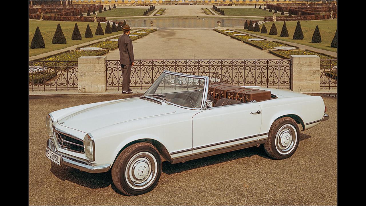 Oldtimer: Mercedes SL ,Pagode