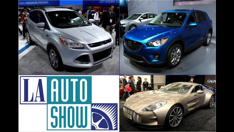 LA Auto Show 2011: Highlights der internationalen Hersteller