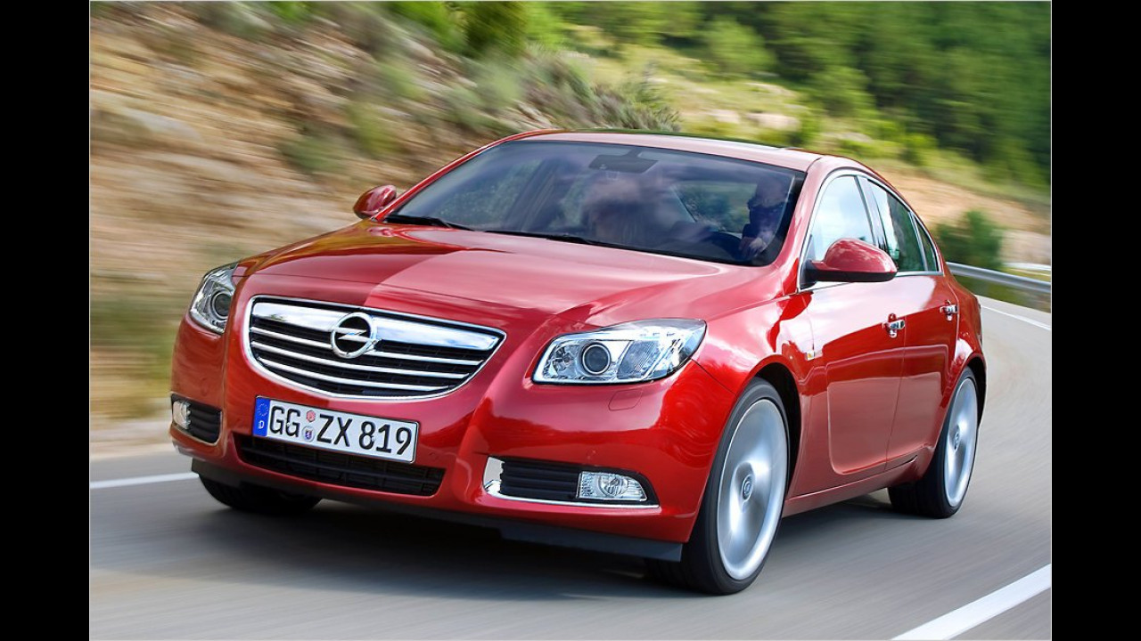 Mittelklasse, 1. Platz: Opel Insignia
