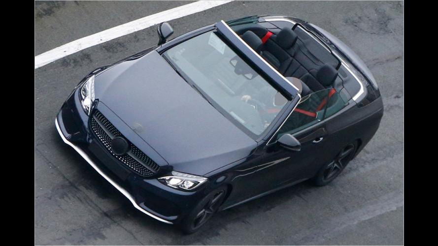 Erwischt: Mercedes C-Klasse Cabrio
