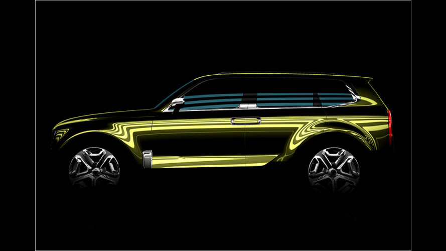Kia Telluride: SUV-Ausblick in Detroit