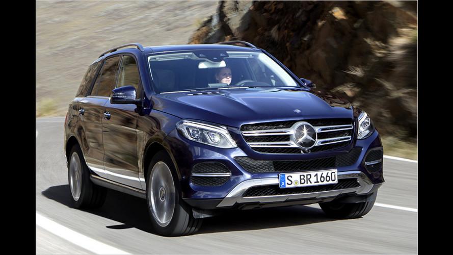 Mercedes GLE: Preise für das Facelift-SUV veröffentlicht