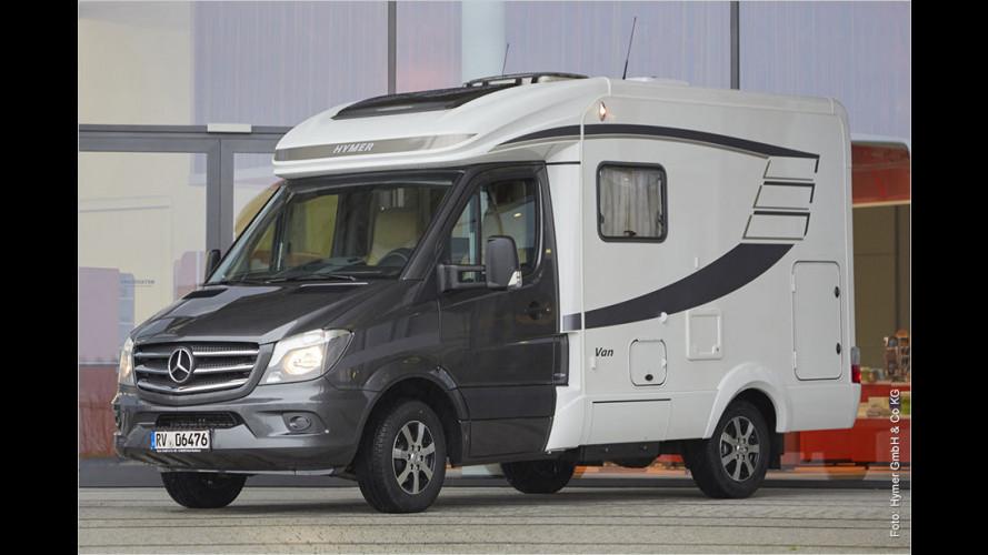 Kompakt-Camper: Hymer Van S 500