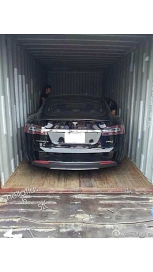 Report: Tesla Delivering First Car Into China.  Cost? $410,000
