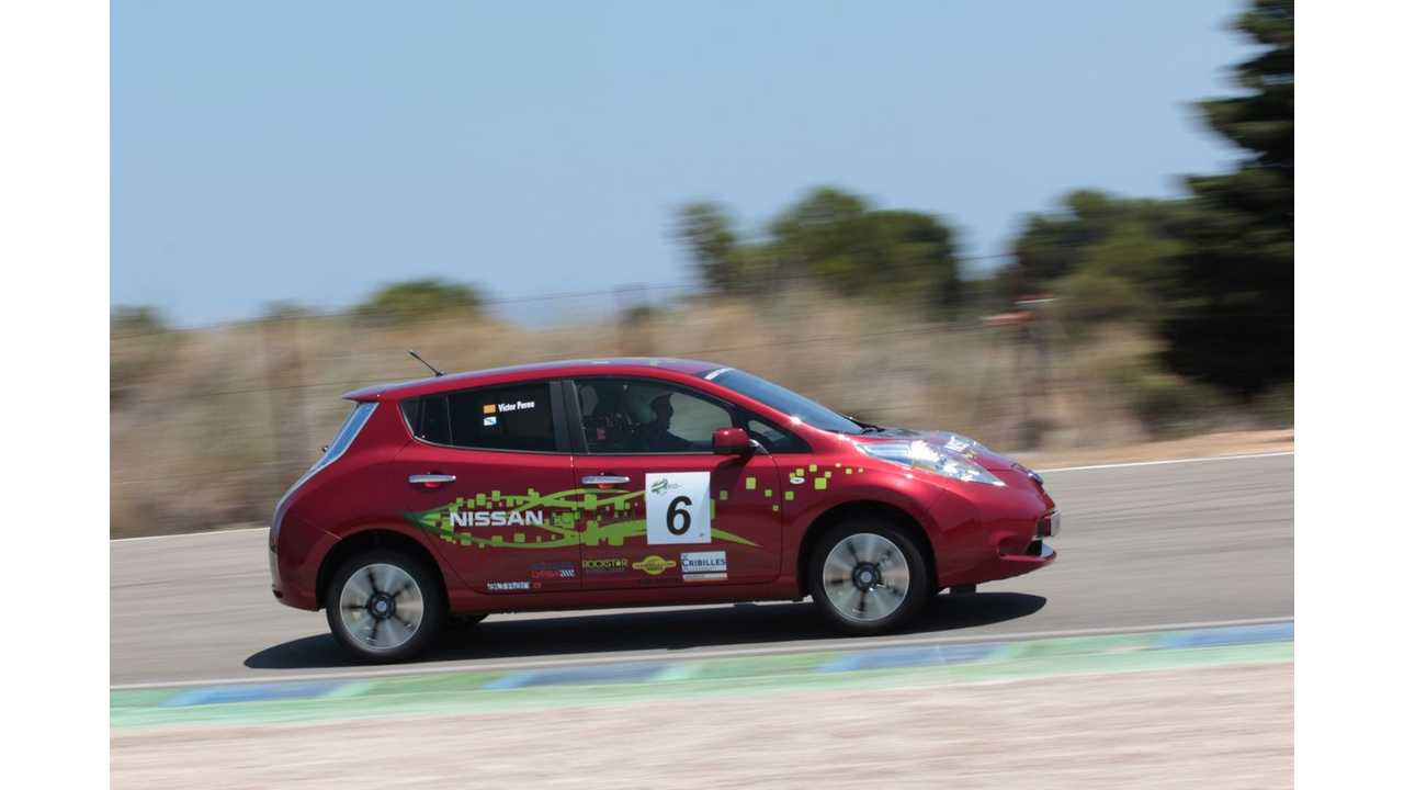 Nissan Tests Longer Range, 48-kWh LEAF at ECOseries