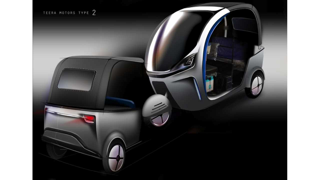 Terra Motors Turns to Crowdsourcing to Fund Its Electric 3-Wheeler (w/video)