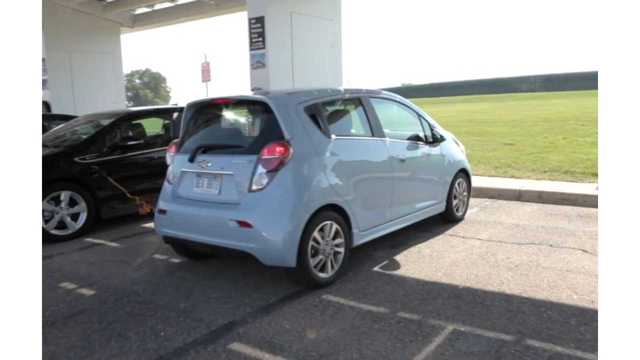 Chevy Spark EV (with 82 miles of EPA rated range) Gets DC Fast Charging In