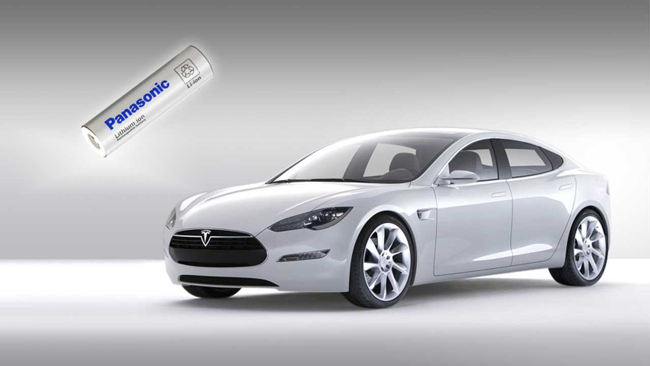 Panasonic's 18650 Lithium-Ion Cell For Tesla Model S