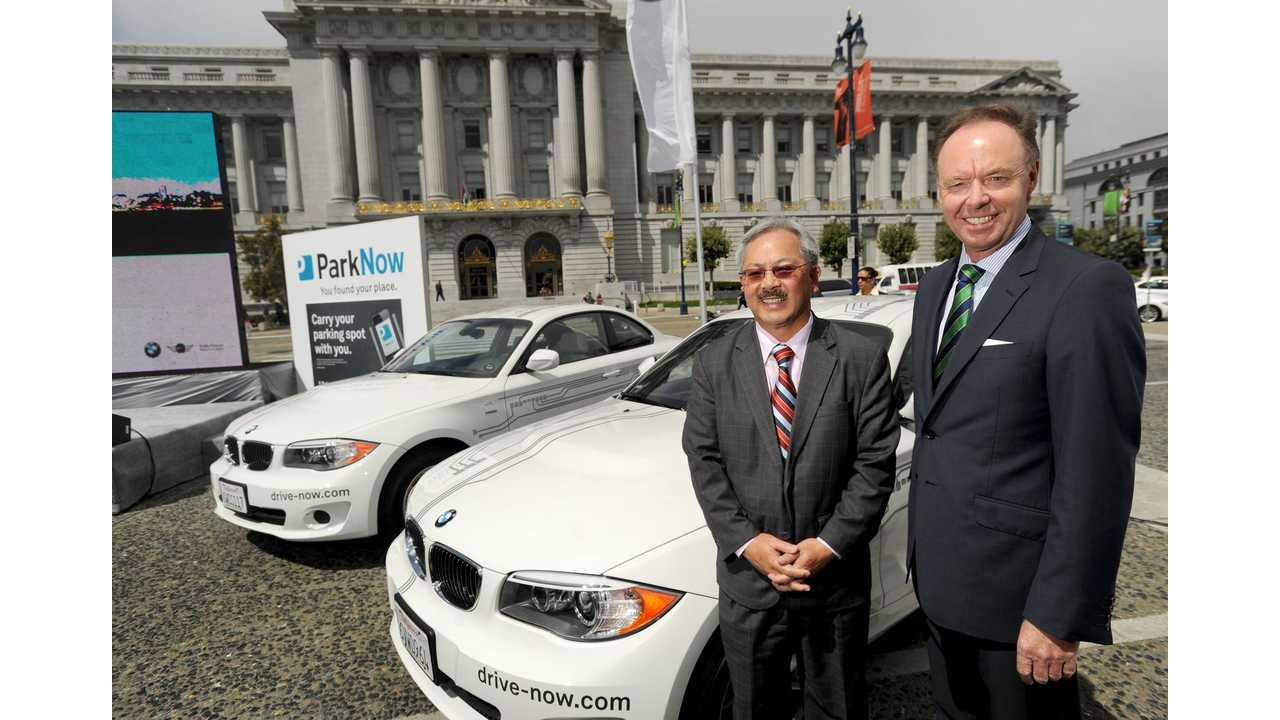 BMW Sending Additional 80 ActiveE To DriveNow in San Francisco