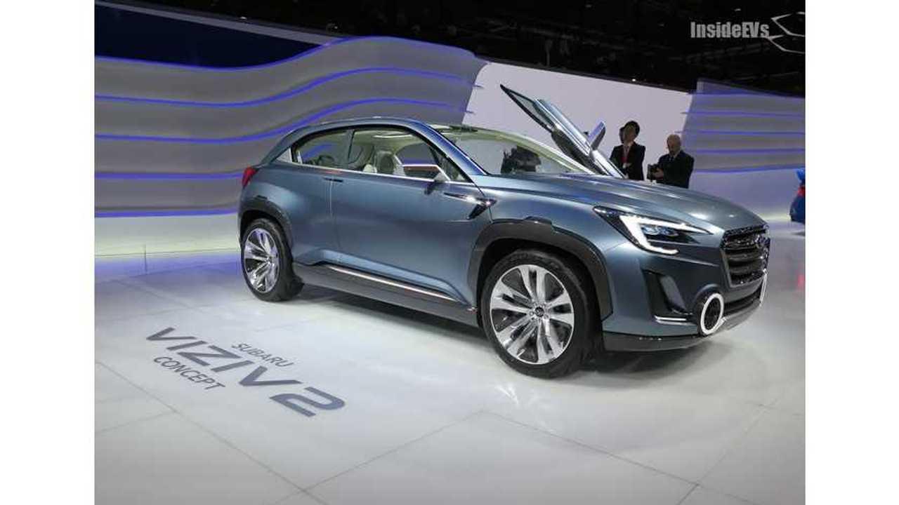 Plug-In Hybrid Subaru In The Works
