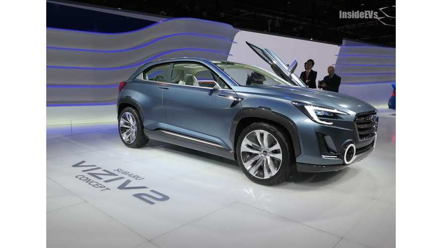 Plug-In Hybrid Subaru In The Works