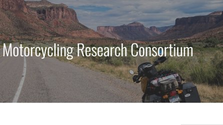 The Safer Motorcycling Research Consortium Is Good For All Of Us