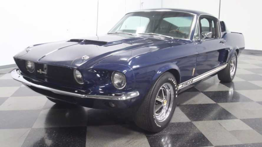 1967 Shelby GT500 Spent Most Of Its Life In Storage