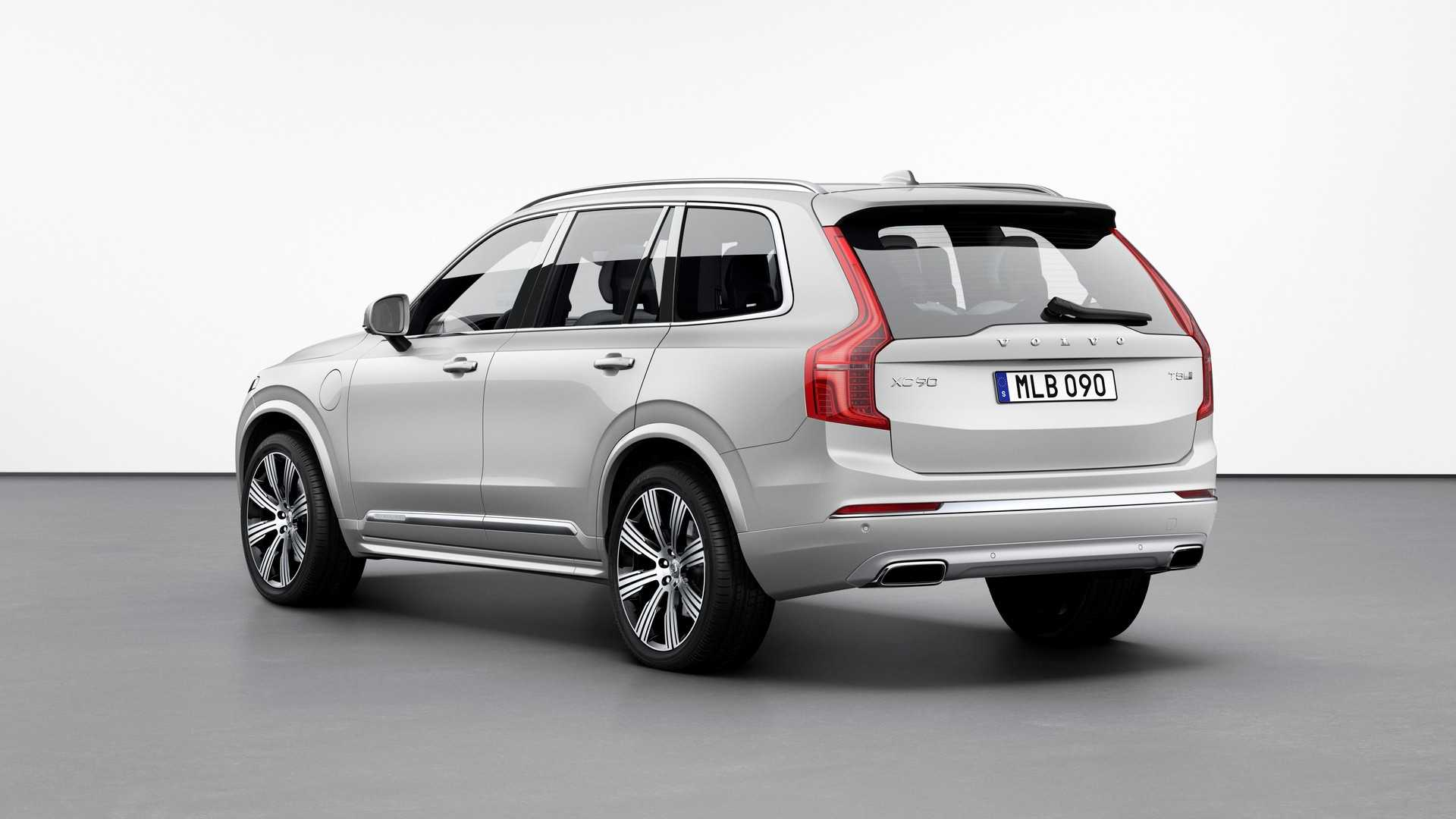 New Volvo Xc90 >> Volvo Xc90 Facelift Unveiled With Kers For Better Fuel Efficiency