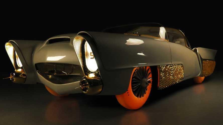 Golden Sahara II Vintage autonomous concept restored for Geneva
