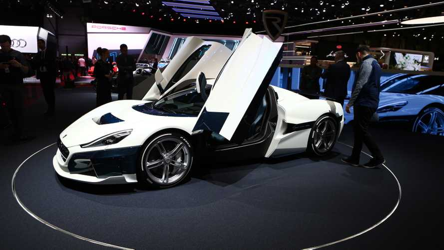 Rimac C_Two arrives in Geneva with attractive livery