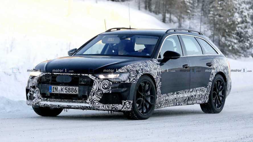 Derniers réglages pour l'Audi A6 Allroad