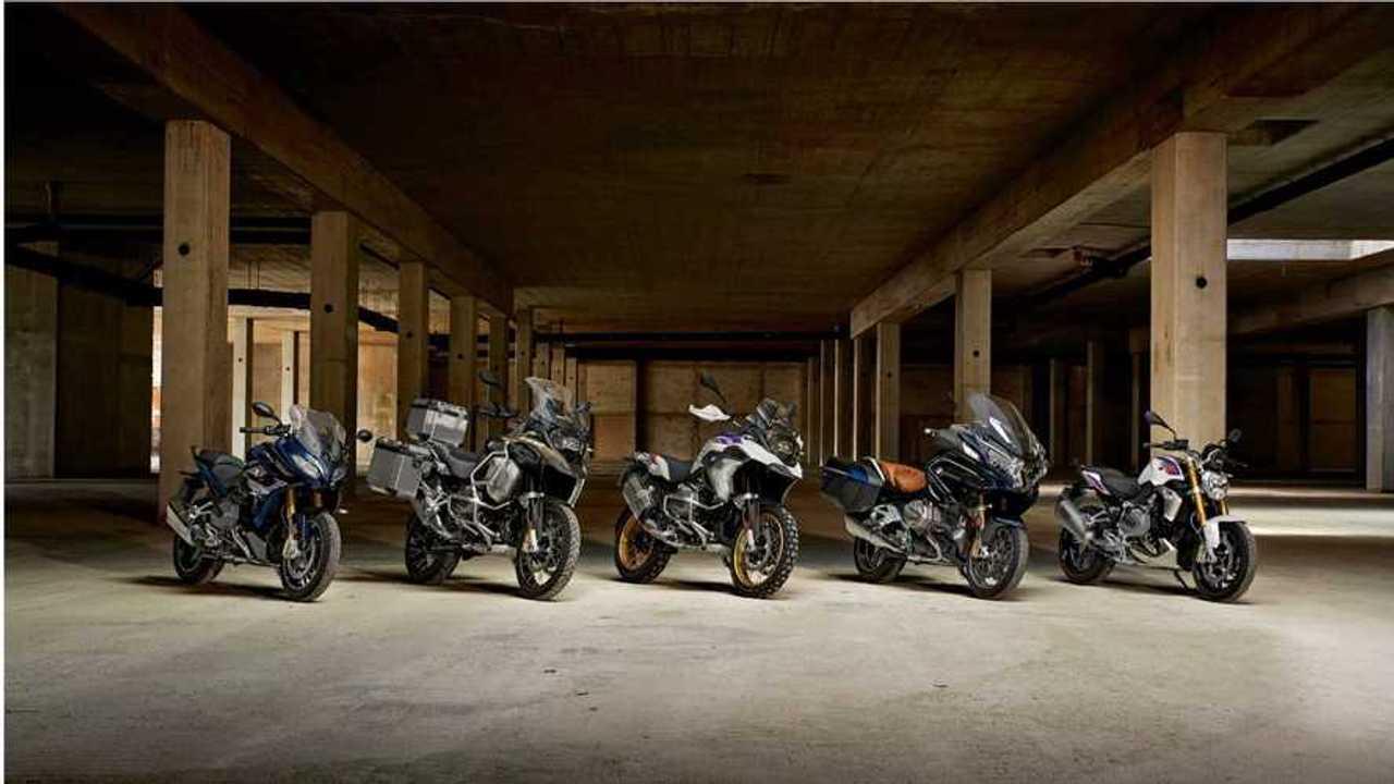BMW Motorrad Models 2018