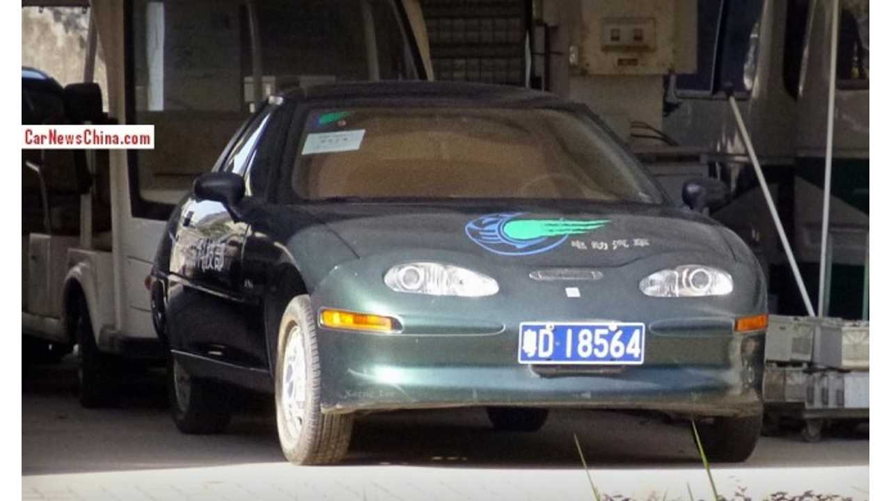 Two GM EV1s Show Up In China