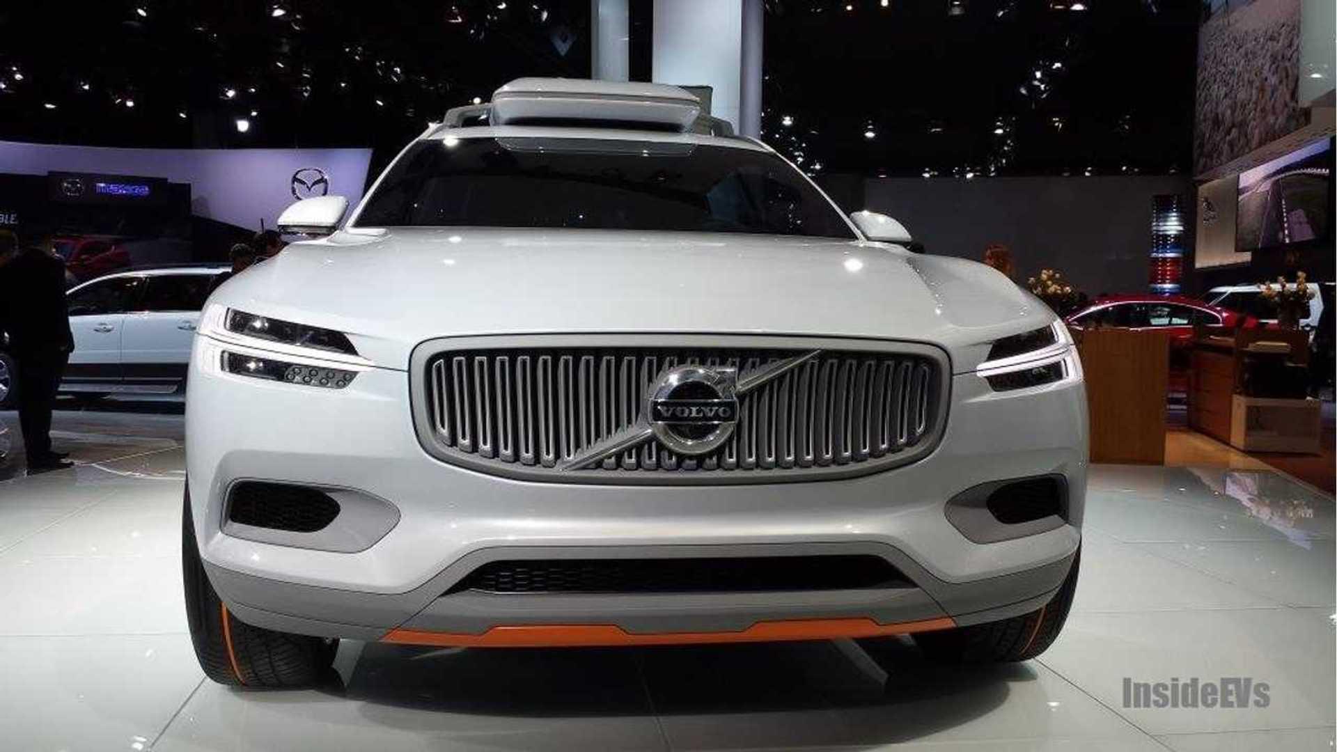 Volvo Concept Xc Live Reveal At 2014 Detroit Auto Show