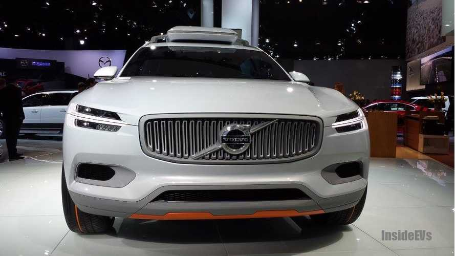 Volvo Concept XC Live Reveal at 2014 Detroit Auto Show