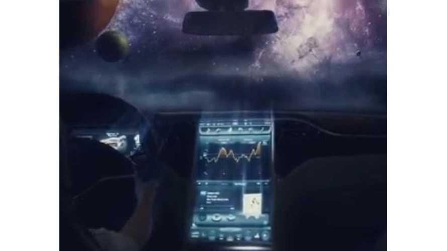Video: Tesla Model S Modern Spaceship