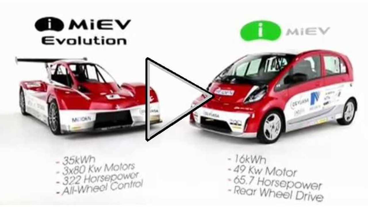 Video: Here's a Glimpse at the Mitsubishi i-MiEV Evolution Pikes Peak Racer