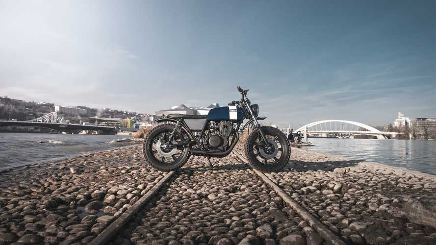 Falkor: The Sweet Custom Yamaha Scrambler
