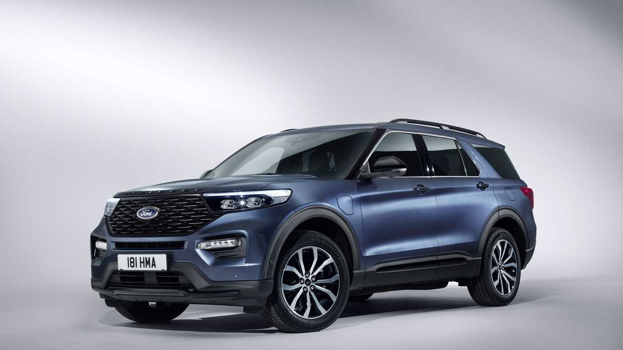2020-as Ford Explorer PHEV (Euro-spec)