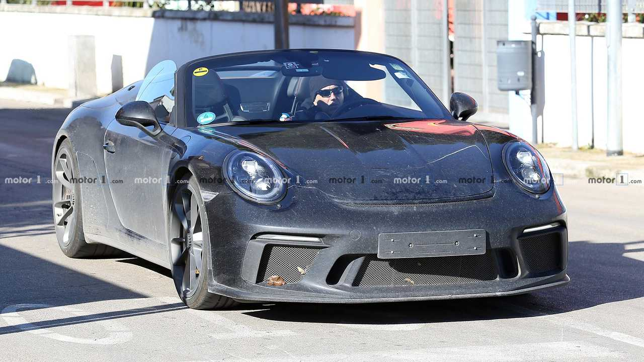 Photo espion Porsche 911 Speedster