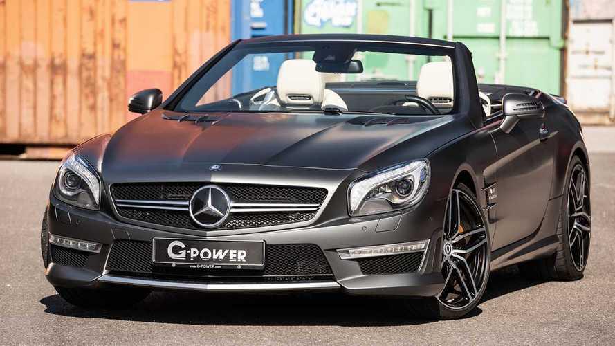 Bol modifiyeli bu Mercedes-AMG SL63'e bir göz atın