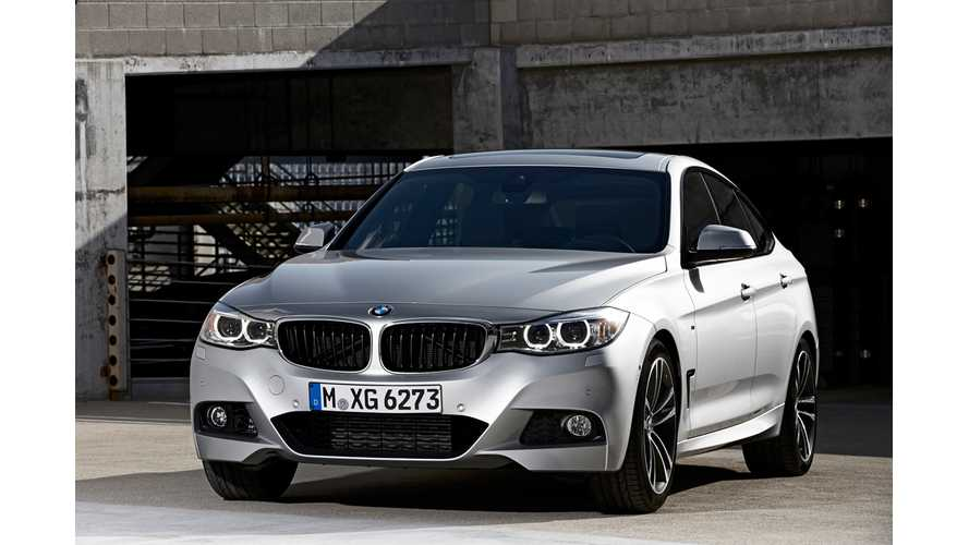 BMW 3 Series Plug-In Hybrid in On-Road Testing Phase