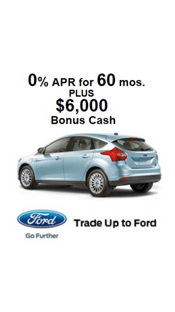 Ford Offers $6,000 Off Focus Electric ($29,170), Leases From $229 Per Month