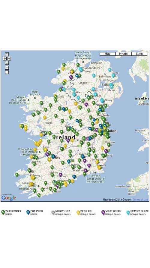 Northern Ireland to Get 100 Additional Public Chargers