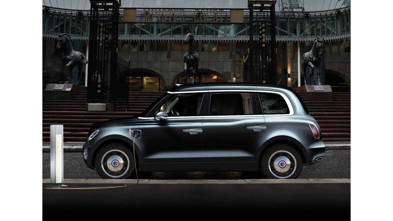 The London Taxi Company Presents Its Vision Of The Future London Taxi