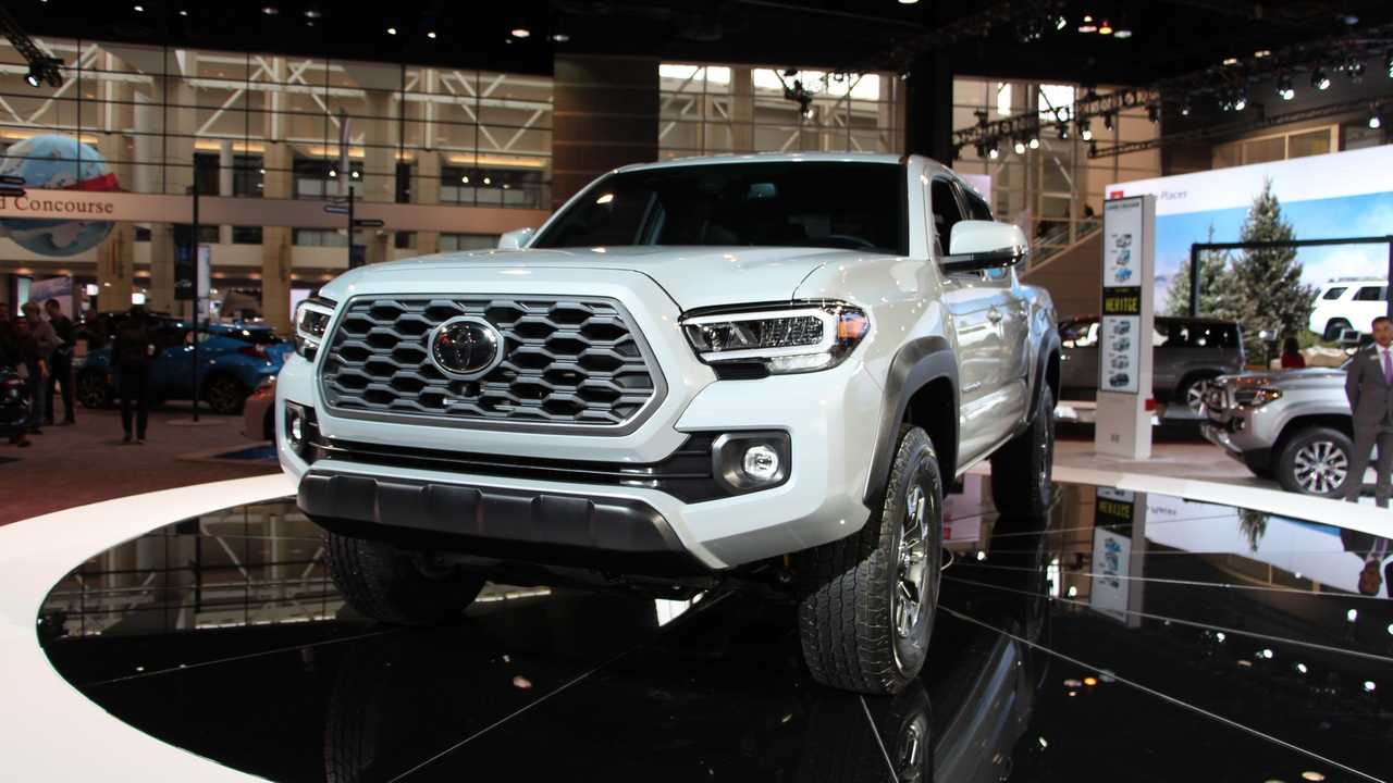 2020 Toyota Tacoma Shows Off Subtle Facelift In Chicago ...