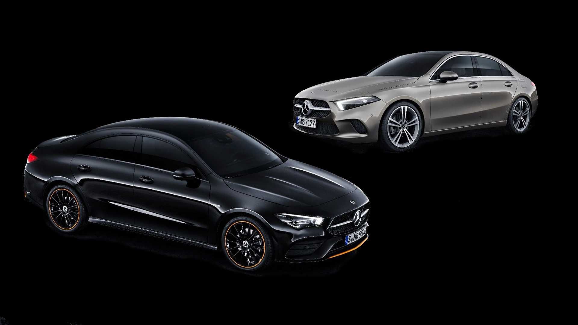 Mercedes Benz A Class Sedan Vs Cla See The Changes