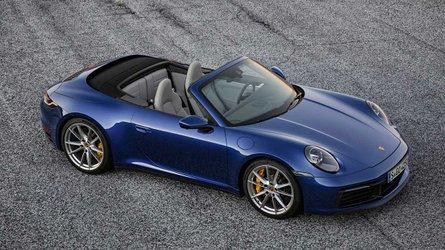 Tető nélküli változatban is megmutatta magát az új Porsche 911