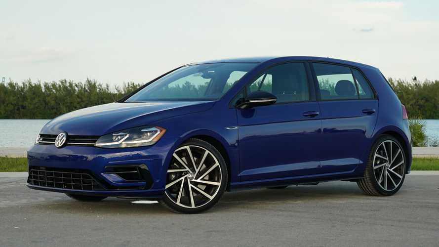 Volkswagen Golf R 2018 года