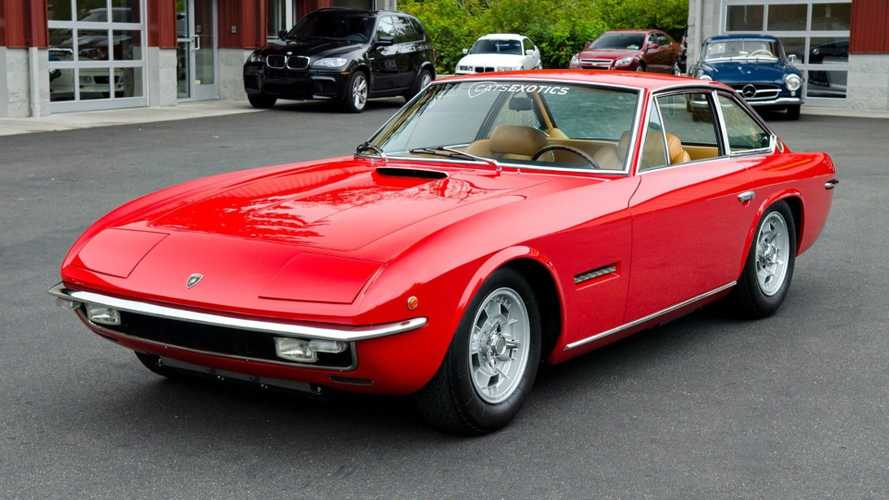 This 1 Of 100 Lamborghini Islero S Could Be Yours