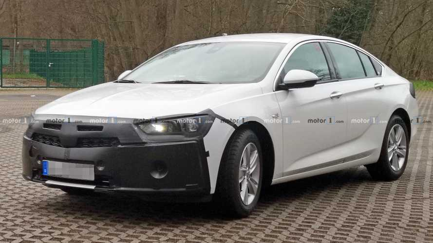 Vauxhall Insignia Grand Sport spied preparing for minor facelift