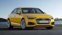 2020 Audi A4 Sedan Renders