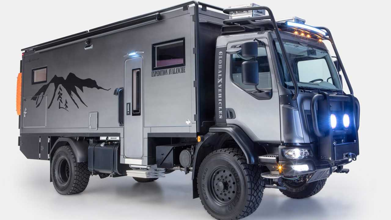 Global Expedition Vehicles Patagonia