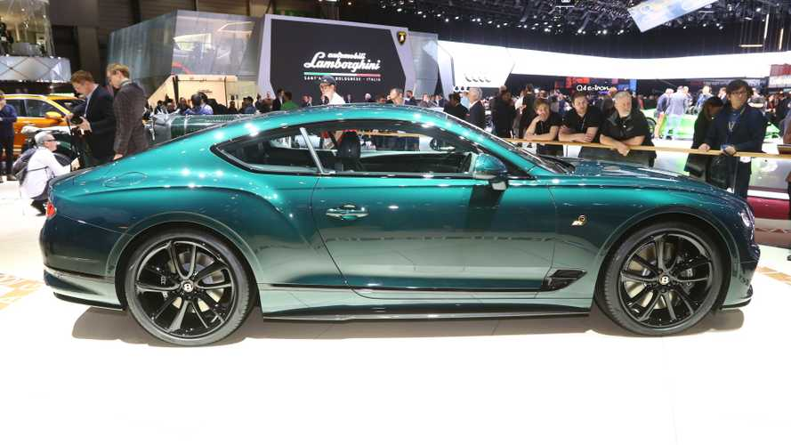 Bentley Continental GT Number 9 Edition Arrives In Geneva