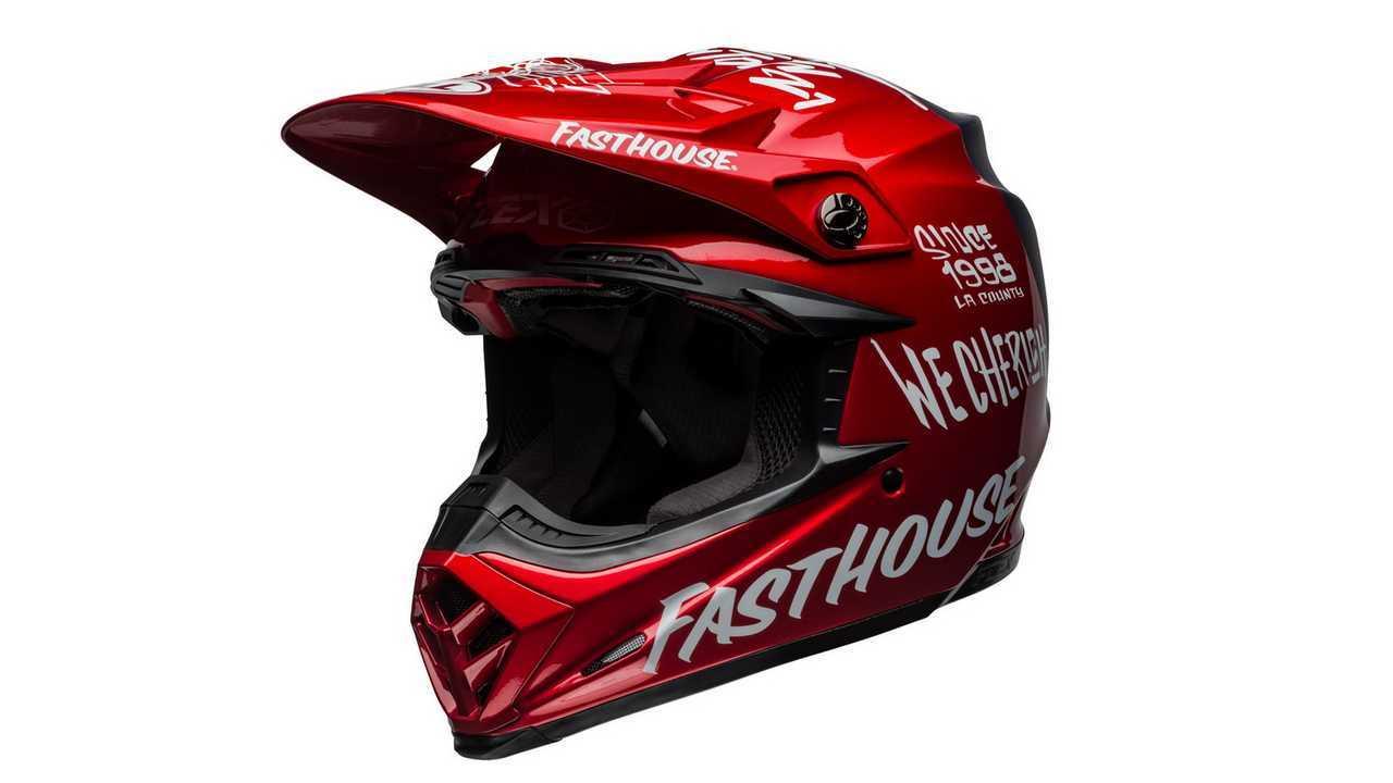 """Bell Moto-9 Flex Fasthouse """"Día en la tierra"""""""