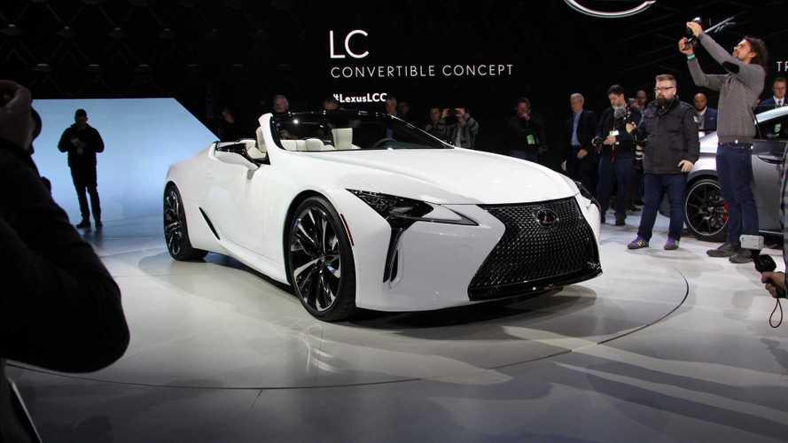 Lexus LC Convertible Konsepti 2019