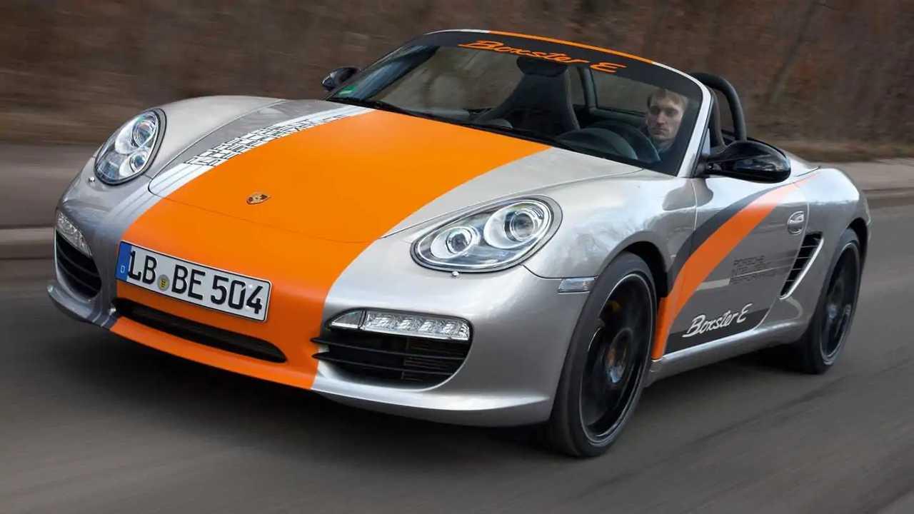 2011 Porsche Boxster E prototipi